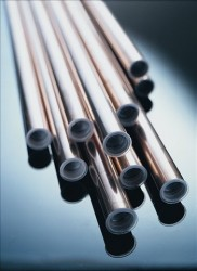 Copper tubes, strips